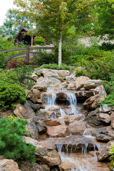 Backyard Waterfalls water features for any budget hgtv
