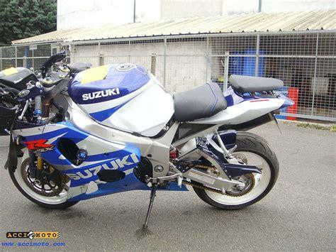 Moto Accidentée Suzuki Gsxr 1000 Gsxr1000 1000gsxr Blanc