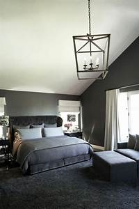 chambre grise 50 idees interessantes et inspirantes With idee deco chambre grise
