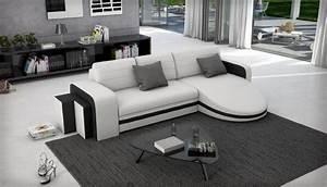 idees de canape meridienne la fonctionnalite est a la mode With tapis persan avec canapé cuir moderne design