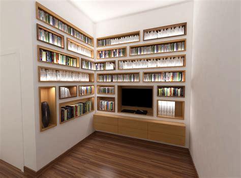 bloc tiroirs bureau design d 39 une bibliothèque sur mesure par abema