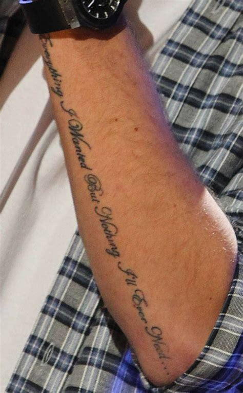Guess The One Direction Tattoo! From Guess The One