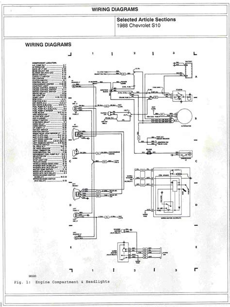 91 Chevy S10 Truck Wiring Diagram by 1988 Chevy Engine Diagram Motorcycle Pictures