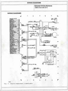 1995 S10 Headlight Wiring Diagram