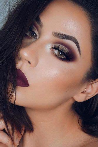 ideas de maquillaje de ojos  chicas morenas