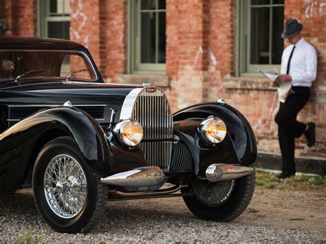 In order to restart production after world war ii and the deaths. Bugatti Type 57C Atalante - 1938