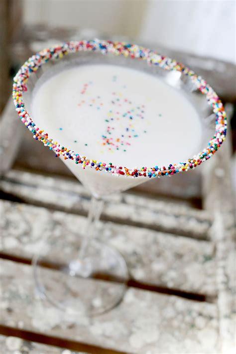 birthday cake martini birthday cake martini a beautiful mess