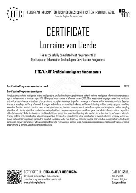 EITC/AI/AIF Artificial intelligence fundamentals - EITCA