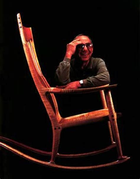 Maloof Rocking Chair Seat by The Elevation Farewell Sam Maloof