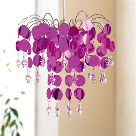 32cm easy fit chandelier metallic pendant ceiling light