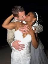 Black interracial man marriage white woman