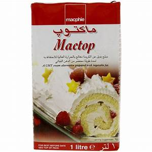 Buy Macphie Mactop Cream 1 Ltr Online in UAE,Abu dhabi ...