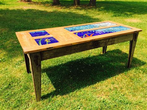 stained glass table ls buy a custom stained glass dining table made to order