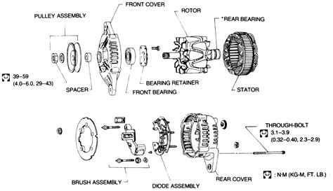 Medallion Tachometer Wiring Diagram by Hitachi Alternator Rebuild Sailnet Community