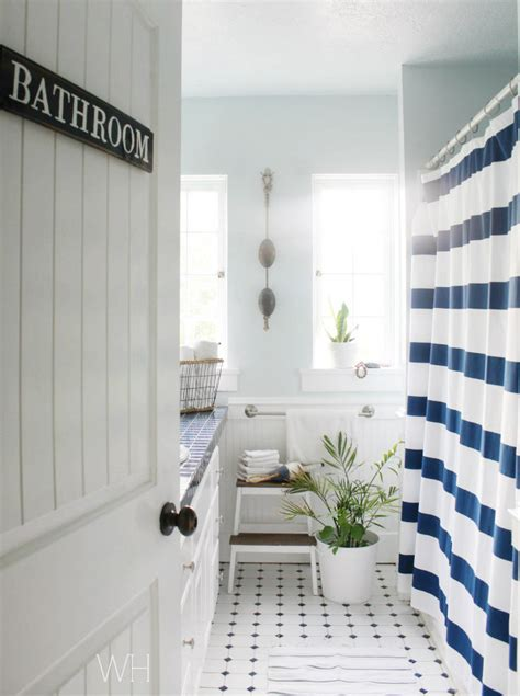 Pottery Barn Bathroom by Easy Pottery Barn Inspired Sign