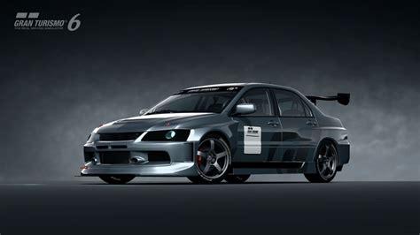 mitsubishi lancer evolution ix gsr touring car  gran
