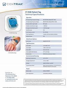 Centrak It723e Patient Tag It