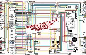 1966 Ford Mustang Color Wiring Diagram