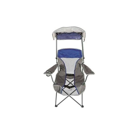 kelsyus premium canopy chair navy kelsyus premium canopy chair in navy 80188 the home depot