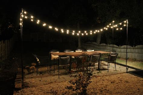 outdoor patio string lights how to hang outdoor string lights outdoor lighting