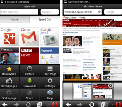 Download opera mini beta for android. opera browser android