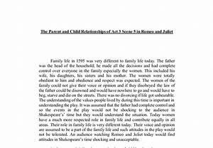 free romeo and juliet essay