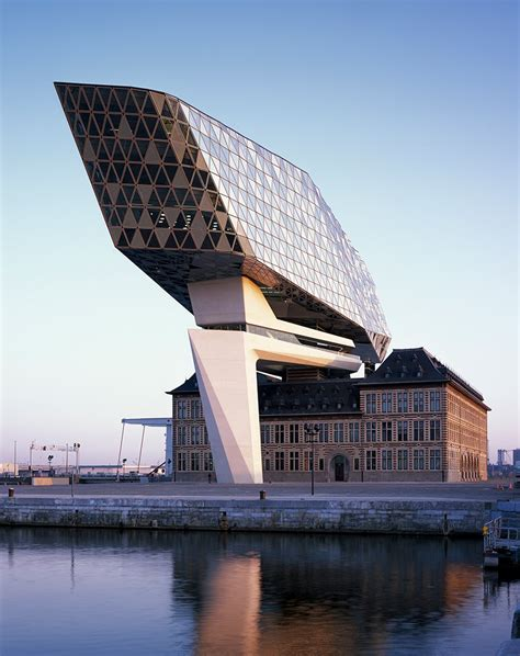 zaha hadid architects port house in antwerp, belgium