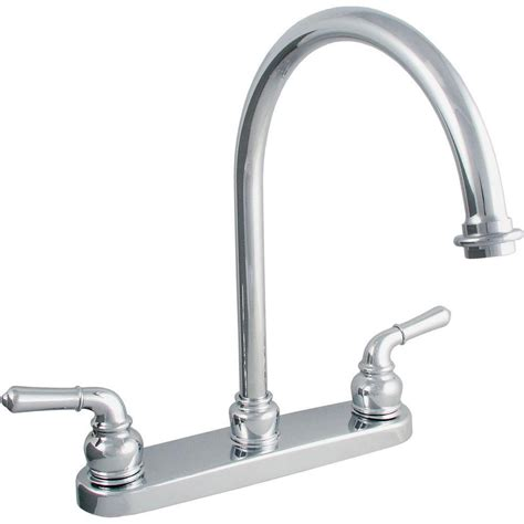 standard kitchen faucet ldr industries 2 handle standard kitchen faucet in chrome