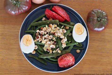 cuisine haricots verts salade de haricots verts une pinc 233 e de cuisine