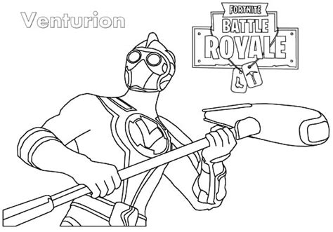 Fortnite Coloring Pages ⋆ Coloring.rocks