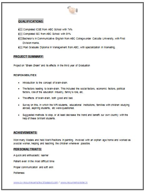 18483 mba marketing resume mba marketing resume sle doc 2 career