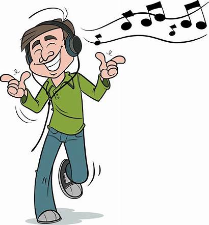 Listening Clipart Transparent Musical Clip Headphones Grandfather