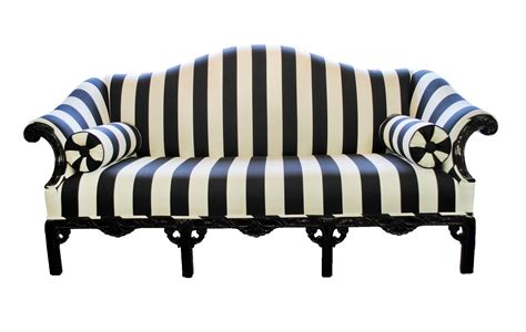 black and white settee black and white striped homesfeed