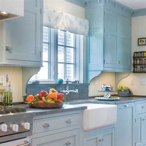 antique kitchen cabinets for best 25 blue country kitchen ideas on tile 7476