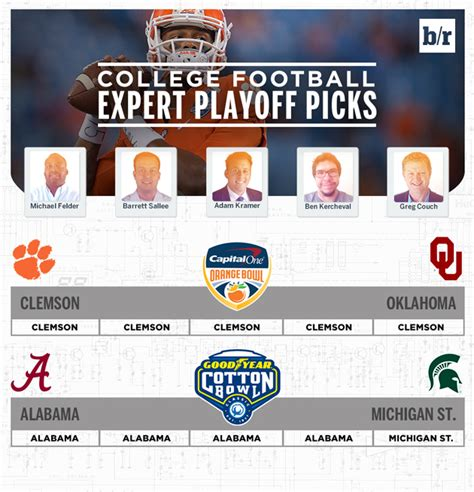 College football expert picks for bowl games