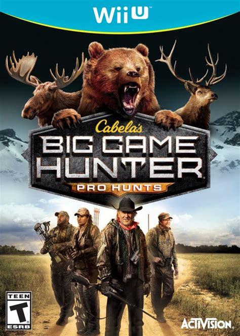 cabelas big game hunter pro hunts nintendo wii  game