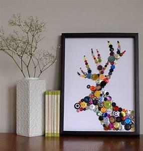 Bilder Mit Knöpfen : kreative bilder aus kn pfen basteln ~ Frokenaadalensverden.com Haus und Dekorationen