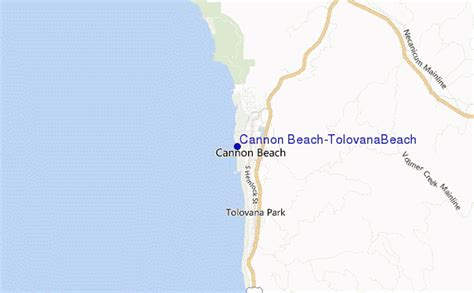 cannon beach tolovanabeach surf forecast and surf reports