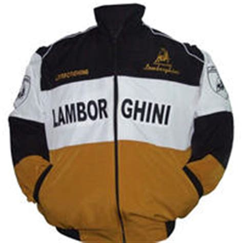Race Car Jackets Lamborghini Automobili Racing Jacket