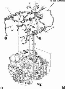 Chevrolet Hhr Wiring Harness  Engine