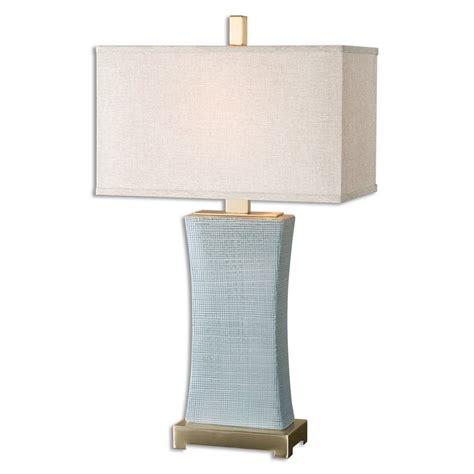 Home Accessories  Cantarana Blue Gray Table Lamp 266731