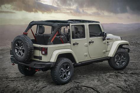 4 door jeep wrangler rubicon 2017 jeep wrangler rubicon recon hiconsumption