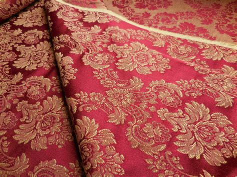 bty vintage brocade upholstery drapery fabric