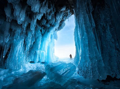ice cave image siberia national geographic photo   day