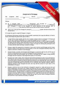 free printable assignment of mortgage form generic With mortgage legal documents