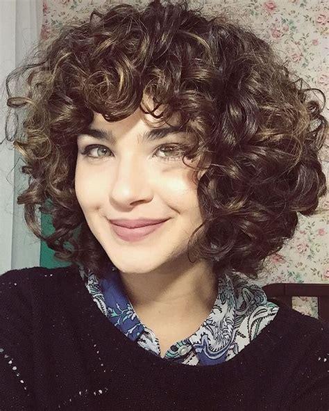 long  short curly hair images  pinterest