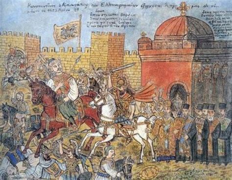Ottomans Capture Constantinople by Major Events Of The World 400 1500 Timeline Timetoast