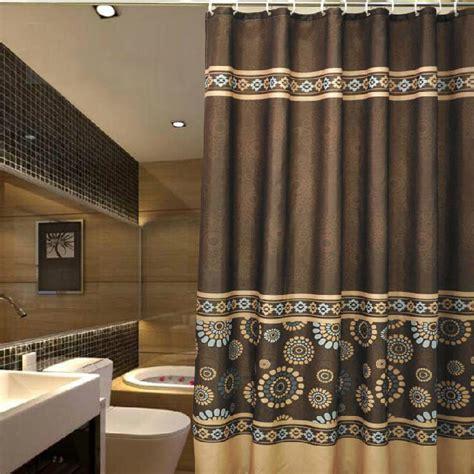 luxury shower curtains vintage coffee patterned luxury shower curtains