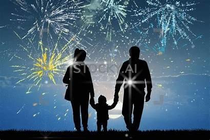Fireworks Sparkling Explosion