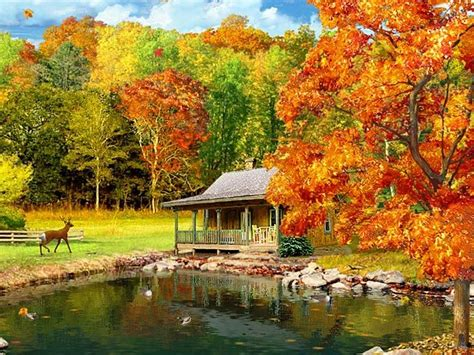 Free Animated Autumn Wallpaper - screensavers and wallpaper autumn wallpapersafari